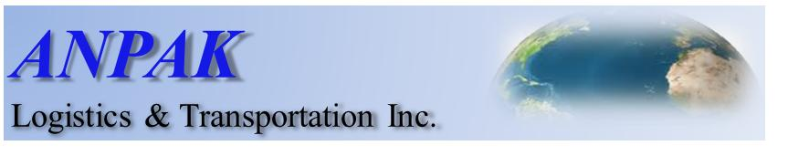 ANPAK Logistics & Transportation Inc Logo